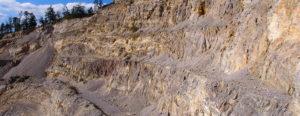 Blick über den Steinbruch Harrer